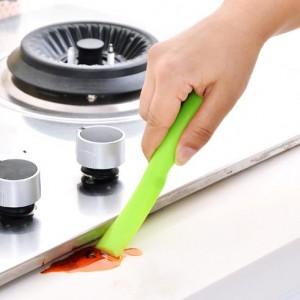 优质PC厨房清洁铲刀 多功能清洁刮刀去污铲 绿色