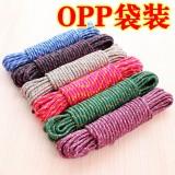 加粗多功能尼龙防滑防风晾衣绳 晾衣绳子 10米 400个/袋