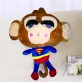 新款带拉链可拆洗双插手电热水袋 防爆暖手宝 超级英雄 猴子超人