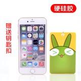 实惠款 韩国立体硅胶卡通公交卡套钥匙扣卡片包卡夹 小绿兔