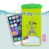卡通手机防水袋 苹果手机漂流袋 漂流游泳防水包 铁塔