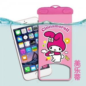 卡通手机防水袋 苹果手机漂流袋 漂流游泳防水包 美乐蒂
