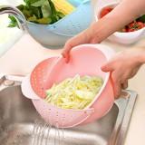 创意新款洗水果篮淘米器沥水器