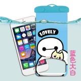 卡通手机防水袋  苹果手机漂流袋 漂流游泳防水包 大白