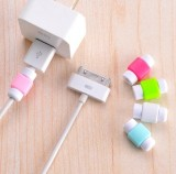 苹果手机电脑防断裂数据线保护套 充电器保护套收纳绕线器