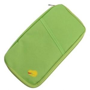 法蒂希Travelus 旅行随身多功能手拿收纳袋 卡包 钱包 绿色