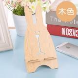 新款韩版越狱兔子木质手机支架 懒人手机架 木色