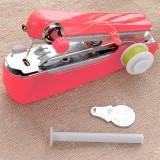 便携式迷你小型手持缝纫机袖珍手工手动微型裁缝机 粉色 200个/箱