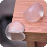 透明球形弹性宝宝安全防撞桌角双面贴儿童安全防碰角 100个装