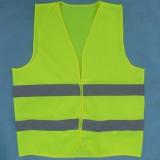 反光马甲背心 施工反光衣 环卫交通安全服 黄色