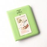 宝丽来甜点时光3寸相册拍立得MINI照片插页照片收藏本 绿色