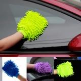 双面特惠款 雪尼尔擦车布洗车手套清洁巾百洁布抹布