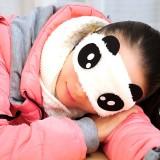 韩版卡通柔软熊猫眼罩 睡眠遮光眼罩 可怜 200个/包 800个/箱