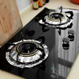 厨房用品 煤气灶锡纸防油耐高温隔热垫 清洁垫(10片装) 多款 120个/箱