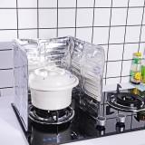 彩袋装厨房煤气灶台挡油板铝箔隔热 炒菜防溅烫挡板 84*32.5