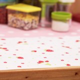 日系印花橱柜垫 防潮垫抽屉贴纸30*300CM 白底红草莓 100个/箱