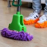 高品质花布包边超细纤维雪尼尔鞋套拖鞋 清洁擦拖鞋套 一双两只价 多款