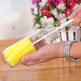 糖果色去污除垢海绵清洁刷 花瓣型长柄轻松杯刷  500个/箱
