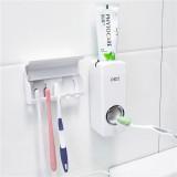 奥莱特自动挤牙膏器(带五位牙刷挂)