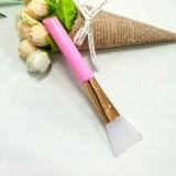 硅胶面膜刷 硅胶刷子软头调膜棒面膜美容工具 粉色