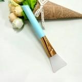 硅胶面膜刷 硅胶刷子软头调膜棒面膜美容工具 蓝色