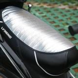 电动车防晒坐垫反光垫隔热片防晒片隔热遮阳坐垫 海绵款