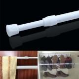 多功能浴帘杆 免打孔强力伸缩杆 窗帘杆门帘杆浴帘撑杆 直径2.2cm