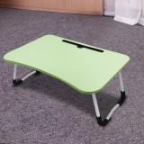 宿舍懒人床上书桌笔记本电脑折叠桌 果绿色