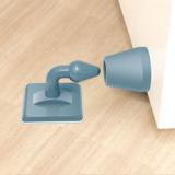 免打孔硅胶门吸防撞器吸门器门后防撞垫 颜色随机