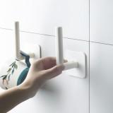 免打孔置物强力黏胶挂钩墙壁挂架无痕钉门后粘贴勾 300个/件