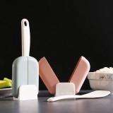 自动开合饭勺收纳架厨房立式防尘盛饭勺子架 混色