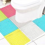 特惠款浴室厨房简约圆孔地垫洗手间防滑垫