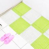 特惠款浴室厨房简约圆孔地垫洗手间防滑垫 B款